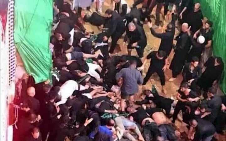 কারবালায় পদদলিত হয়ে ৩১ জন নিহত