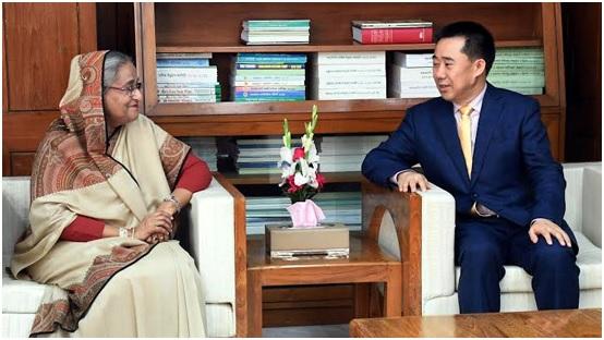 রোহিঙ্গা সমস্যা সমাধানে বেইজিং গঠনমূলক ভূমিকা রাখবে : প্রধানমন্ত্রীকে চীনের রাষ্ট্রদূত
