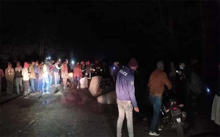 শৈলকুপায় ট্রাক-নসিমন সংঘর্ষ: ৭ নির্মাণ শ্রমিক নিহত