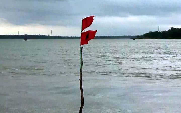 বঙ্গোপসাগরে নিম্নচাপ, সমুদ্রবন্দরে সতর্ক সংকেত